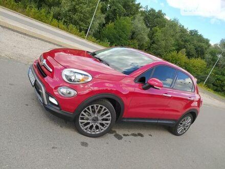 Красный Фиат 500X, объемом двигателя 2.4 л и пробегом 157 тыс. км за 14000 $, фото 1 на Automoto.ua