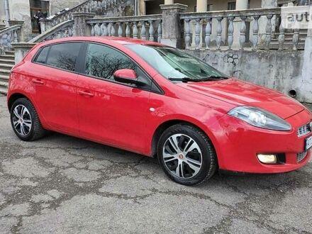 Красный Фиат Браво, объемом двигателя 1.4 л и пробегом 282 тыс. км за 5999 $, фото 1 на Automoto.ua