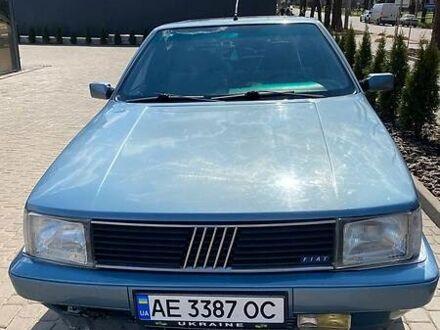 Синий Фиат Крома, объемом двигателя 2 л и пробегом 354 тыс. км за 2400 $, фото 1 на Automoto.ua