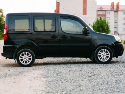 Черный Фиат Добло груз., объемом двигателя 1.4 л и пробегом 85 тыс. км за 0 $, фото 1 на Automoto.ua
