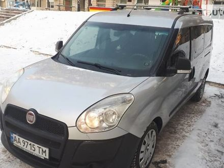 Сірий Фіат Добло пас., об'ємом двигуна 1.6 л та пробігом 232 тис. км за 8999 $, фото 1 на Automoto.ua