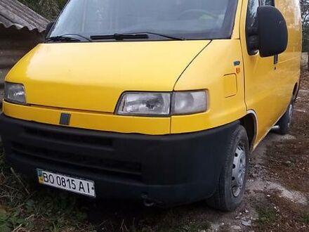 Желтый Фиат Дукато груз., объемом двигателя 1.9 л и пробегом 220 тыс. км за 3100 $, фото 1 на Automoto.ua