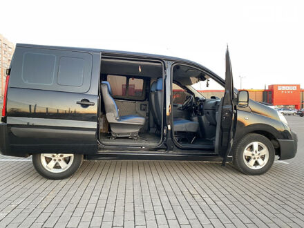 Чорний Фіат Скудо пас., об'ємом двигуна 1.6 л та пробігом 215 тис. км за 7700 $, фото 1 на Automoto.ua