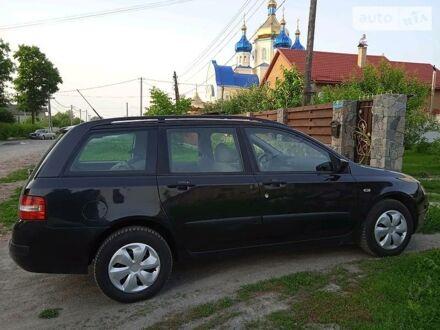 Черный Фиат Стило, объемом двигателя 1.6 л и пробегом 170 тыс. км за 5400 $, фото 1 на Automoto.ua