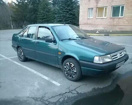 Зеленый Фиат Темпра, объемом двигателя 2 л и пробегом 300 тыс. км за 2300 $, фото 1 на Automoto.ua