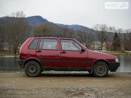 Червоний Фіат Уно, об'ємом двигуна 1.4 л та пробігом 275 тис. км за 1650 $, фото 1 на Automoto.ua
