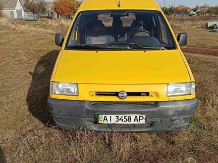 Желтый Фиат Scudo груз.-пасс., объемом двигателя 0 л и пробегом 395 тыс. км за 4000 $, фото 1 на Automoto.ua