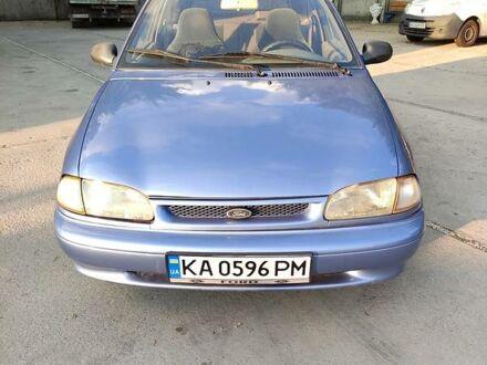 Синій Форд Аспіре, об'ємом двигуна 1.3 л та пробігом 250 тис. км за 2500 $, фото 1 на Automoto.ua