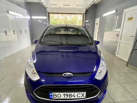 Синий Форд Б-Макс, объемом двигателя 1 л и пробегом 121 тыс. км за 7000 $, фото 1 на Automoto.ua