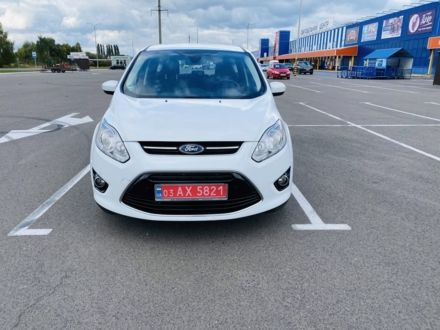 Белый Форд Си-Макс, объемом двигателя 0.16 л и пробегом 185 тыс. км за 10600 $, фото 1 на Automoto.ua