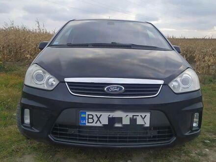 Черный Форд Си-Макс, объемом двигателя 1.8 л и пробегом 178 тыс. км за 6850 $, фото 1 на Automoto.ua