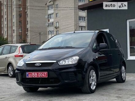 Черный Форд Си-Макс, объемом двигателя 1.8 л и пробегом 104 тыс. км за 7650 $, фото 1 на Automoto.ua