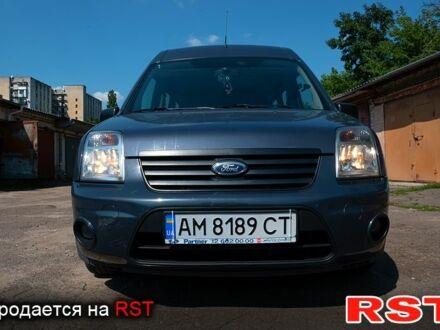 Синий Форд Коннект, объемом двигателя 1.8 л и пробегом 213 тыс. км за 9500 $, фото 1 на Automoto.ua