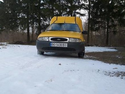 Жовтий Форд Кур'єр, об'ємом двигуна 0 л та пробігом 370 тис. км за 2200 $, фото 1 на Automoto.ua