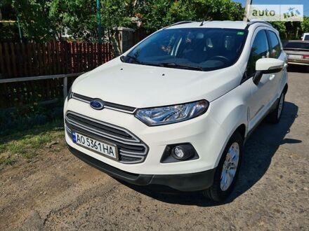 Белый Форд Экоспорт, объемом двигателя 1 л и пробегом 72 тыс. км за 10650 $, фото 1 на Automoto.ua