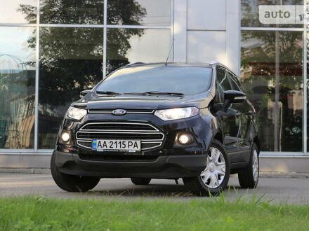 Черный Форд Экоспорт, объемом двигателя 1.5 л и пробегом 69 тыс. км за 11950 $, фото 1 на Automoto.ua