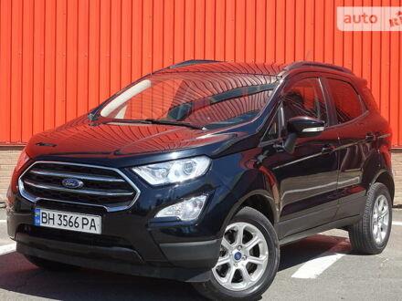 Черный Форд Экоспорт, объемом двигателя 2 л и пробегом 12 тыс. км за 14499 $, фото 1 на Automoto.ua