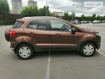Коричневый Форд Экоспорт, объемом двигателя 1.5 л и пробегом 114 тыс. км за 12100 $, фото 1 на Automoto.ua