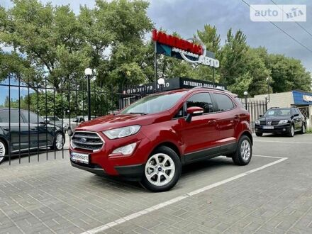 Красный Форд Экоспорт, объемом двигателя 1 л и пробегом 15 тыс. км за 15000 $, фото 1 на Automoto.ua