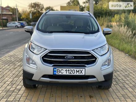 Серый Форд Экоспорт, объемом двигателя 2 л и пробегом 75 тыс. км за 14700 $, фото 1 на Automoto.ua
