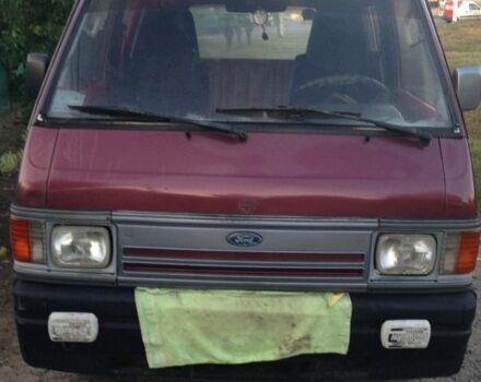 Красный Форд Эконован, объемом двигателя 2 л и пробегом 100 тыс. км за 1800 $, фото 1 на Automoto.ua