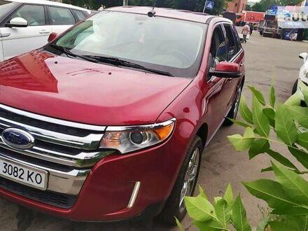 Красный Форд Эдж, объемом двигателя 3.5 л и пробегом 165 тыс. км за 18500 $, фото 1 на Automoto.ua