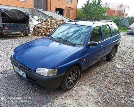 Синий Форд Эскорт, объемом двигателя 1.4 л и пробегом 25 тыс. км за 2200 $, фото 1 на Automoto.ua