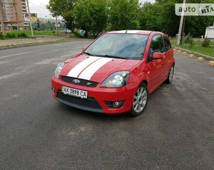 Красный Форд Фиеста, объемом двигателя 2 л и пробегом 226 тыс. км за 7000 $, фото 1 на Automoto.ua