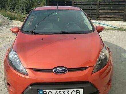 Оранжевый Форд Фиеста, объемом двигателя 1.2 л и пробегом 160 тыс. км за 6850 $, фото 1 на Automoto.ua