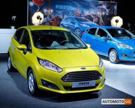 купити нове авто Форд Фієста 2020 року від офіційного дилера Авто-Альянс FORD Форд фото