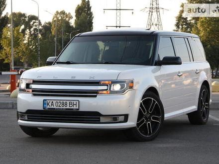 Белый Форд Флекс, объемом двигателя 3.5 л и пробегом 74 тыс. км за 16700 $, фото 1 на Automoto.ua
