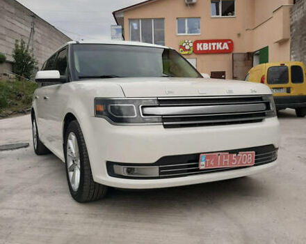 Белый Форд Флекс, объемом двигателя 3.5 л и пробегом 130 тыс. км за 16800 $, фото 1 на Automoto.ua