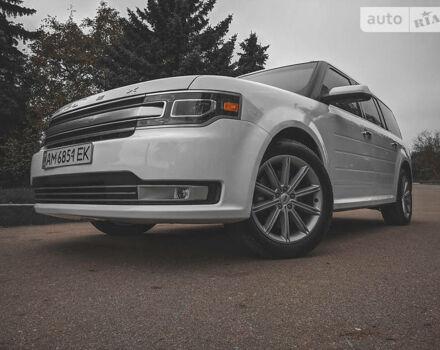 Белый Форд Флекс, объемом двигателя 3.5 л и пробегом 118 тыс. км за 18499 $, фото 1 на Automoto.ua