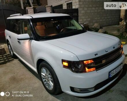 Белый Форд Флекс, объемом двигателя 3.5 л и пробегом 138 тыс. км за 26000 $, фото 1 на Automoto.ua