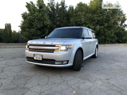 Серый Форд Флекс, объемом двигателя 3.5 л и пробегом 185 тыс. км за 17000 $, фото 1 на Automoto.ua