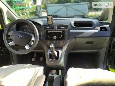 Черный Форд Focus C-Max, объемом двигателя 1.8 л и пробегом 300 тыс. км за 5300 $, фото 1 на Automoto.ua