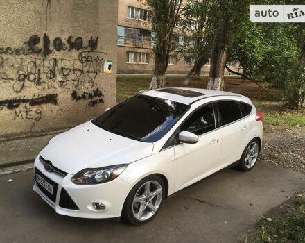 Белый Форд Фокус, объемом двигателя 2 л и пробегом 61 тыс. км за 8500 $, фото 1 на Automoto.ua