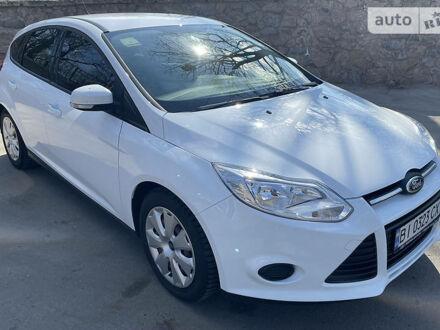 Белый Форд Фокус, объемом двигателя 1 л и пробегом 60 тыс. км за 8100 $, фото 1 на Automoto.ua