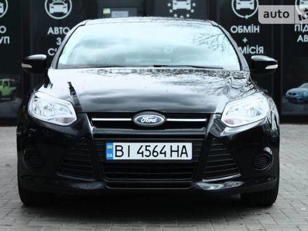 Черный Форд Фокус, объемом двигателя 2 л и пробегом 149 тыс. км за 9600 $, фото 1 на Automoto.ua