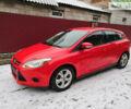 Красный Форд Фокус, объемом двигателя 2 л и пробегом 233 тыс. км за 8500 $, фото 1 на Automoto.ua