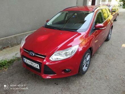 Красный Форд Фокус, объемом двигателя 2 л и пробегом 226 тыс. км за 9500 $, фото 1 на Automoto.ua