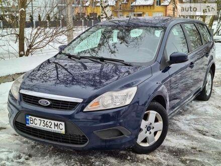 Синий Форд Фокус, объемом двигателя 1.6 л и пробегом 223 тыс. км за 5900 $, фото 1 на Automoto.ua