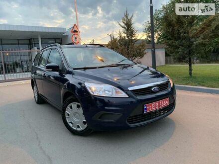 Синий Форд Фокус, объемом двигателя 1.6 л и пробегом 120 тыс. км за 6900 $, фото 1 на Automoto.ua