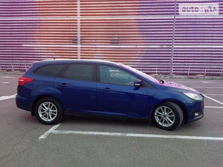 Синий Форд Фокус, объемом двигателя 1 л и пробегом 95 тыс. км за 10500 $, фото 1 на Automoto.ua