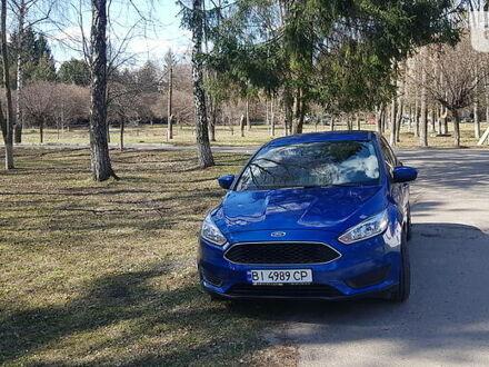 Синий Форд Фокус, объемом двигателя 2 л и пробегом 80 тыс. км за 11000 $, фото 1 на Automoto.ua