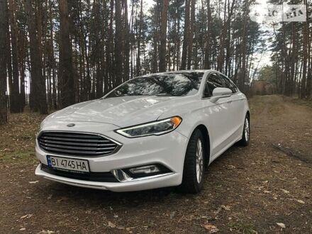 Белый Форд Фьюжн, объемом двигателя 2 л и пробегом 73 тыс. км за 14100 $, фото 1 на Automoto.ua