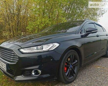 Черный Форд Фьюжн, объемом двигателя 2 л и пробегом 130 тыс. км за 12500 $, фото 1 на Automoto.ua