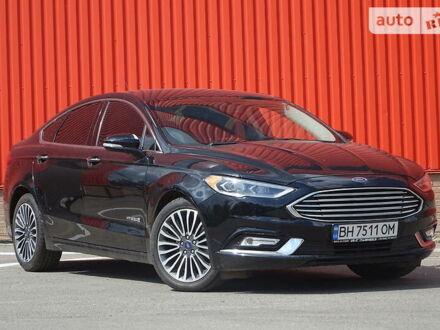 Черный Форд Фьюжн, объемом двигателя 2 л и пробегом 72 тыс. км за 17700 $, фото 1 на Automoto.ua
