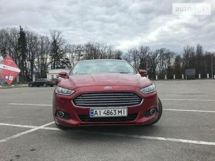 Красный Форд Фьюжн, объемом двигателя 2.5 л и пробегом 142 тыс. км за 10800 $, фото 1 на Automoto.ua