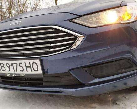 Синий Форд Фьюжн, объемом двигателя 2 л и пробегом 136 тыс. км за 16500 $, фото 1 на Automoto.ua